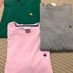 Bundle of 3 BrooksBrothers T-shirt's in EUC large